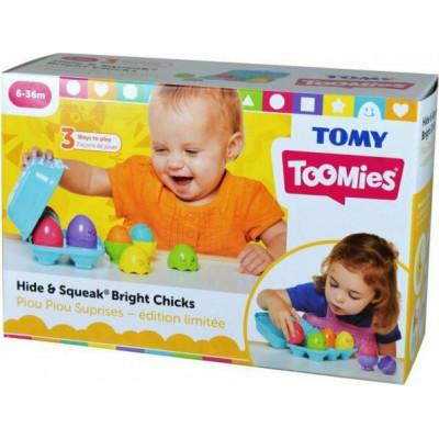 AS Tomy Toomies - Hide & Squeak Bright Chicks (1000-73081)