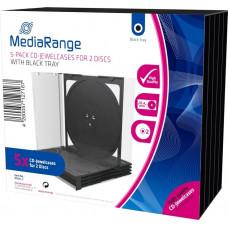 MediaRange Θήκη CD 5τμχ 10.4mm Black Tray BOX31-2