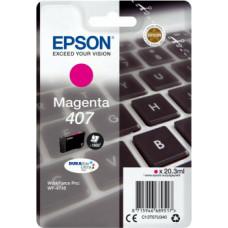 Epson 407 Magenta (C13T07U340)