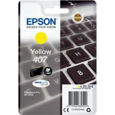 Epson 407 Yellow (C13T07U440)