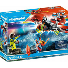Playmobil City Action: Diver Rescue With Rescue Drone
