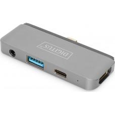 Digitus DA-70893 USB-C Mobile Dock 4-Port