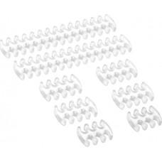 Cablemod C-Series ModFlex Basic Cable Comb Kit Transparent