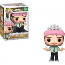 Funko POP TV: Parks  Rec- Andy as Princess Rainbow Sparkle #1147 Vinyl Figure