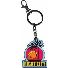 Dark Horse Cyberpunk 2077 - Night City Keychain (3006-698)