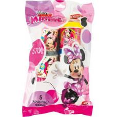 AS Πλαστελίνα - Disney Junior Minnie - 5  Βαζάκια Πλαστελίνης 4oz σε σακουλάκι (1045-03553)