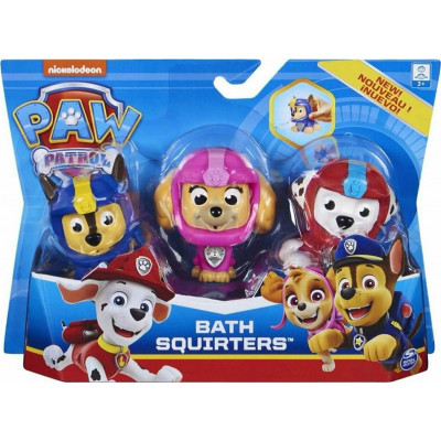 Spin Master Paw Patrol: Bath Squirter 3Pack (6058528)