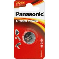 1 Panasonic CR 2016 Lithium Power