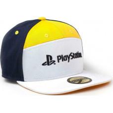 Difuzed PlayStation - 7 Panels Snapback Cap (BA274066SNY)
