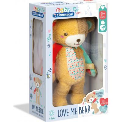 AS Baby Clementoni - Love Me Bear My First Plush (1000-17267)