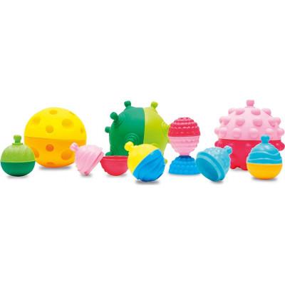 AS Lalaboom 2 Sensory Balls & 4 Educational Beads (1000-86151)