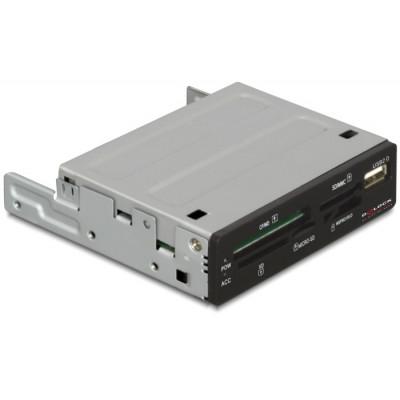 DeLock Card Reader 3.5 57 in 1 & USB 2.0 port