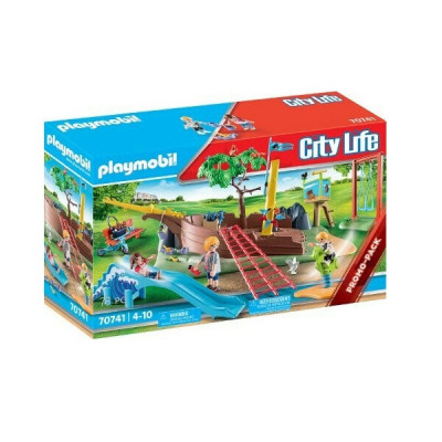 Playmobil City Life: Playground Adventure with Shipwreck 70741